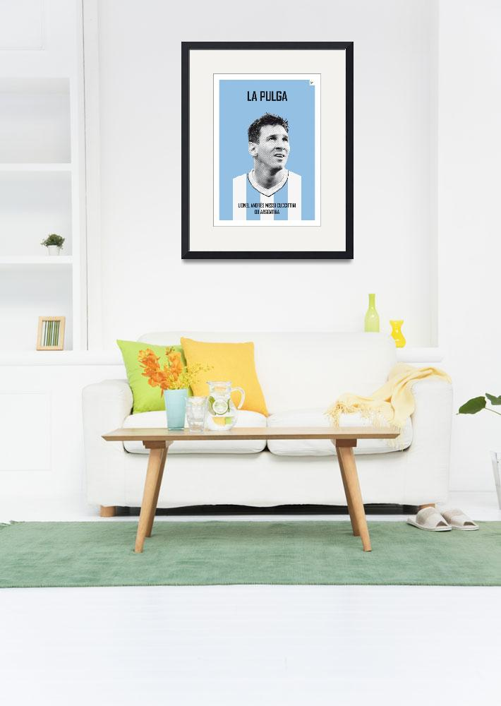"""My Messi soccer legend poster&quot  by Chungkong"