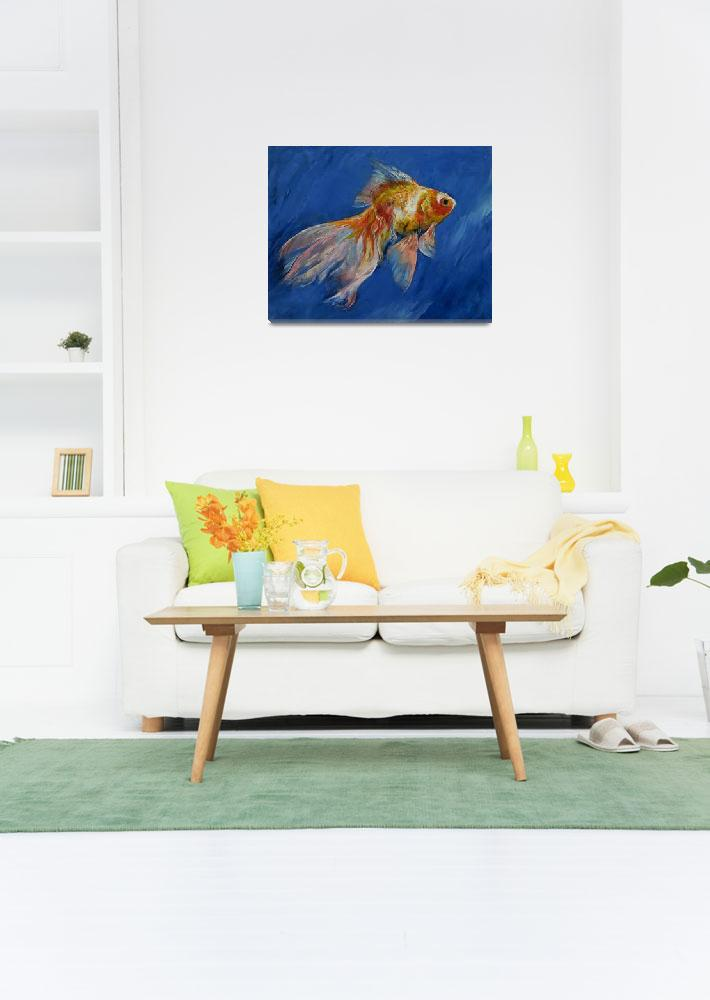 """""""Goldfish&quot  by creese"""