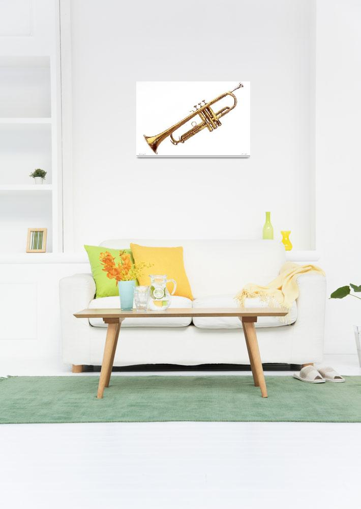 """M002-8 1930 Conn Trumpet VIII""  (2016) by Williamcastner"