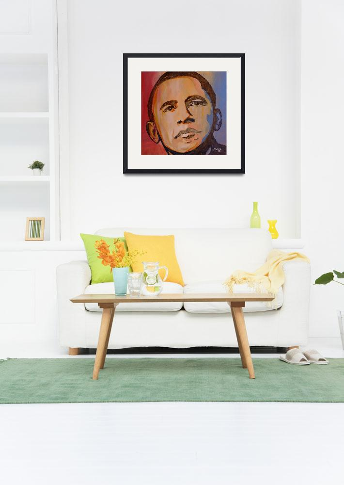 """""""President Obama&quot  (2009) by KipDecker"""