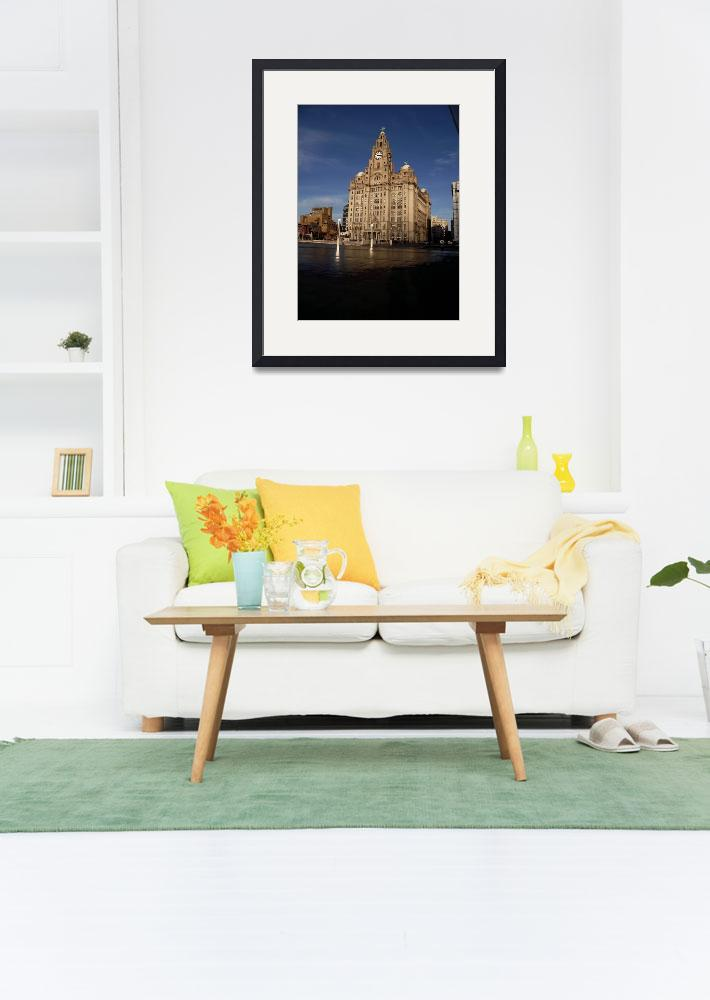 """""""Royal Liver Building&quot  by merelymortal"""