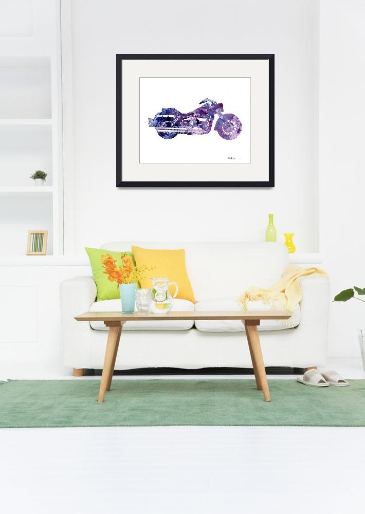 """""""Harley Davidson Motorcycle&quot  (2016) by k9artgallery"""