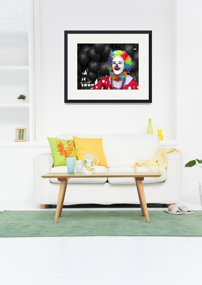 """""""creepyclown1&quot  by Geekgirly"""