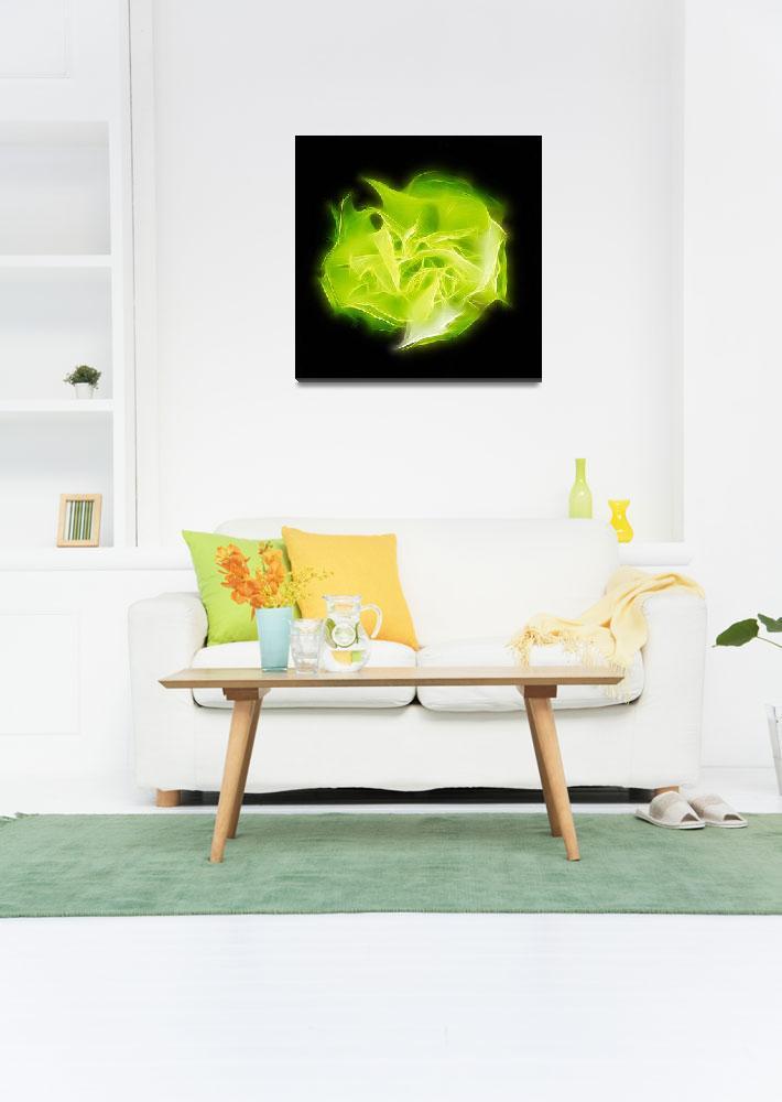 """Green Heart Chakra&quot  (2017) by modernhouseart"