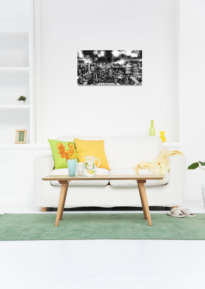 """""""Jules Verne in my Living Room&quot  (2010) by ErikTek"""