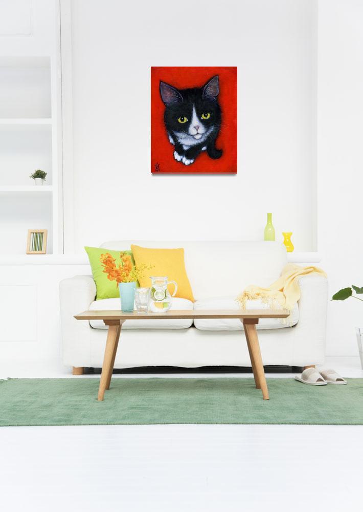 """""""Harry Kitten""""  (2012) by HeidiShaulis"""