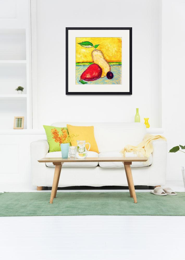 """Italian Pear Fresco&quot  by sageworks"