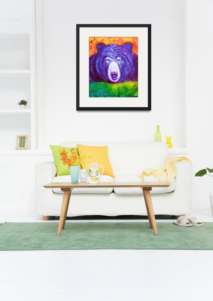 """Bear""  (2012) by ArtPrints"