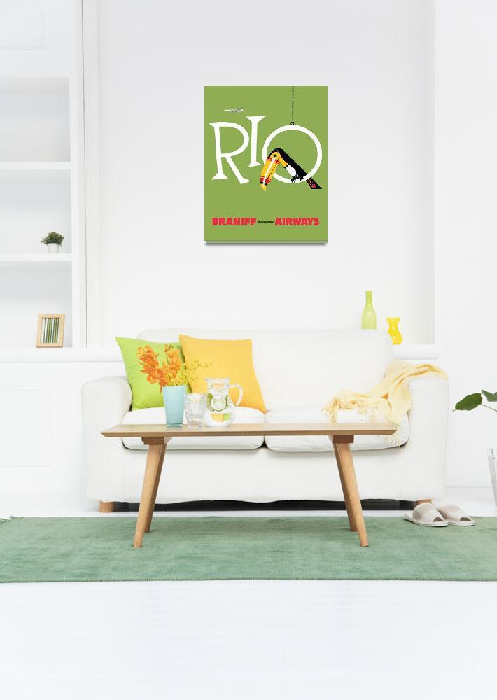 """""""Braniff Airways Rio 1&quot  by jvorzimmer"""