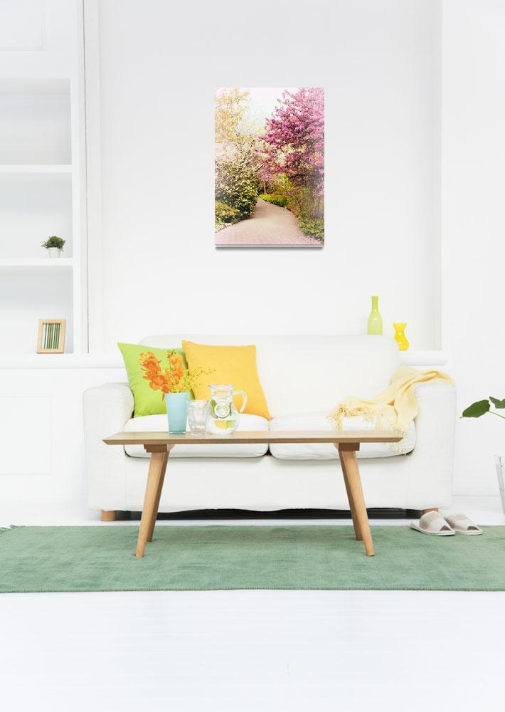 """Pastel Spring Garden""  (2019) by JessicaJenney"