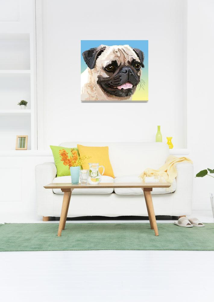"""""""Our Friend the Pug&quot  (2007) by diane"""