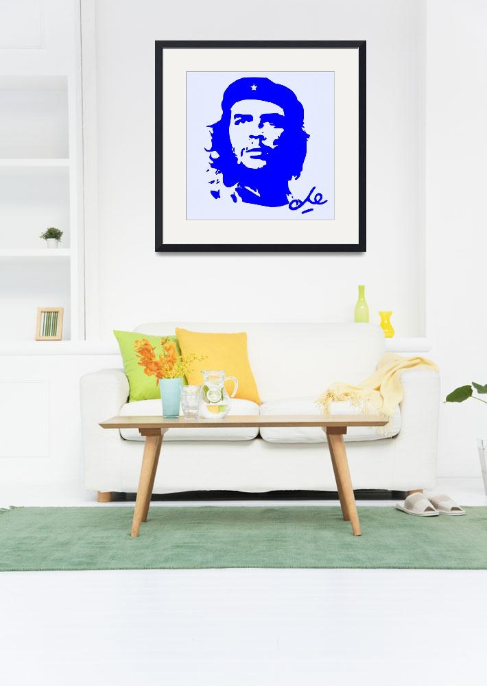 """Che Guevara Poster 3&quot  by motionage"