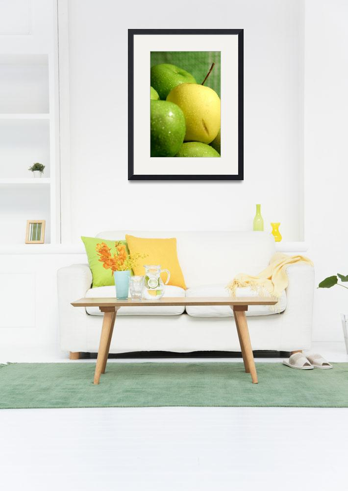 """""""Green Apples 1""""  (2009) by ArtImage"""