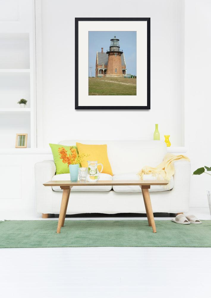 """""""Lighthouse at Block Island&quot  (2007) by StephanieB"""