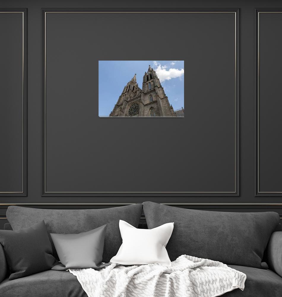"""St. Ludmila Basilica.""  by FernandoBarozza"