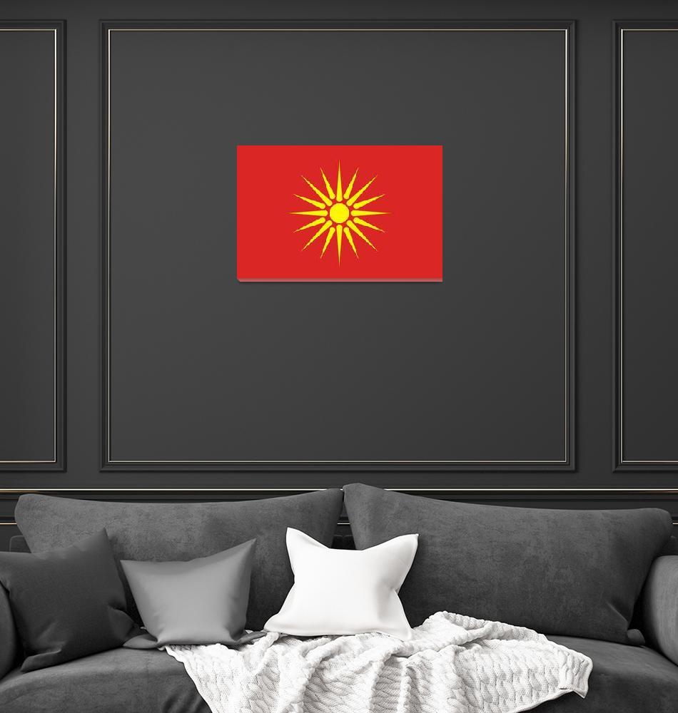 """""""old Macedonia flag""""  by tony4urban"""