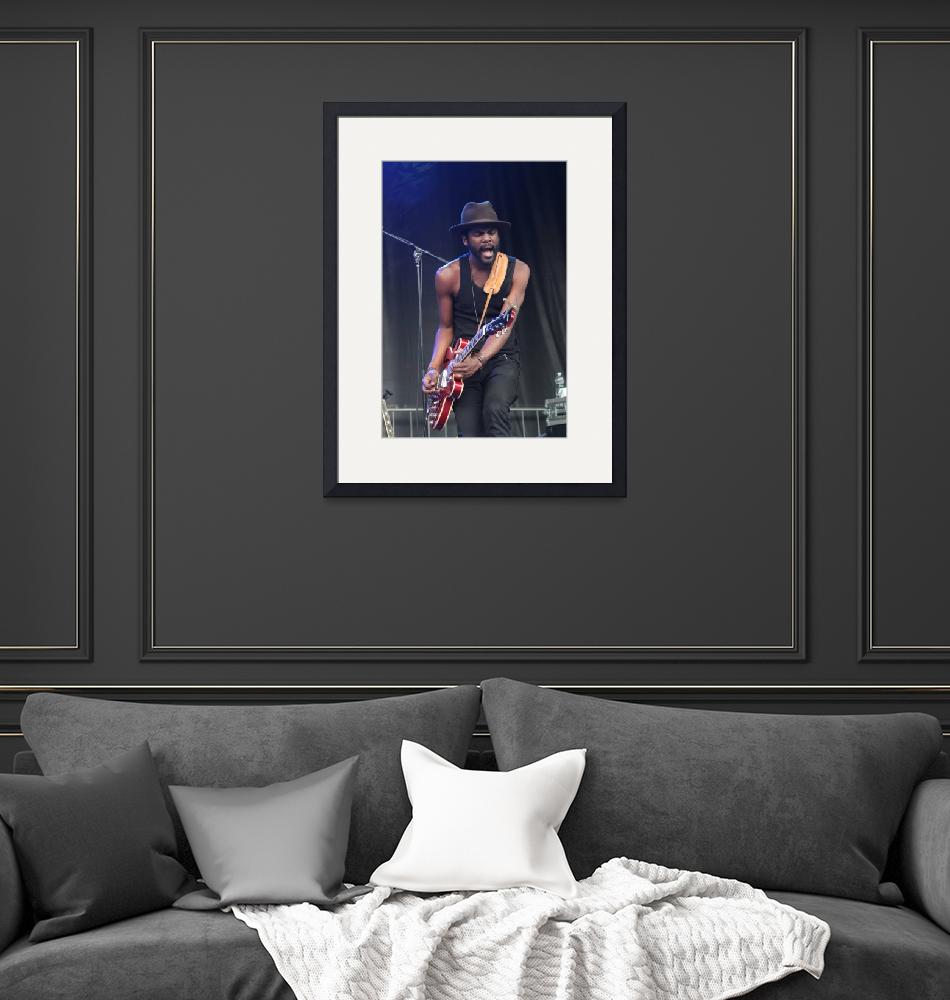 """Guitarist Gary Clark Jr""  by FrontRowPhotographs"