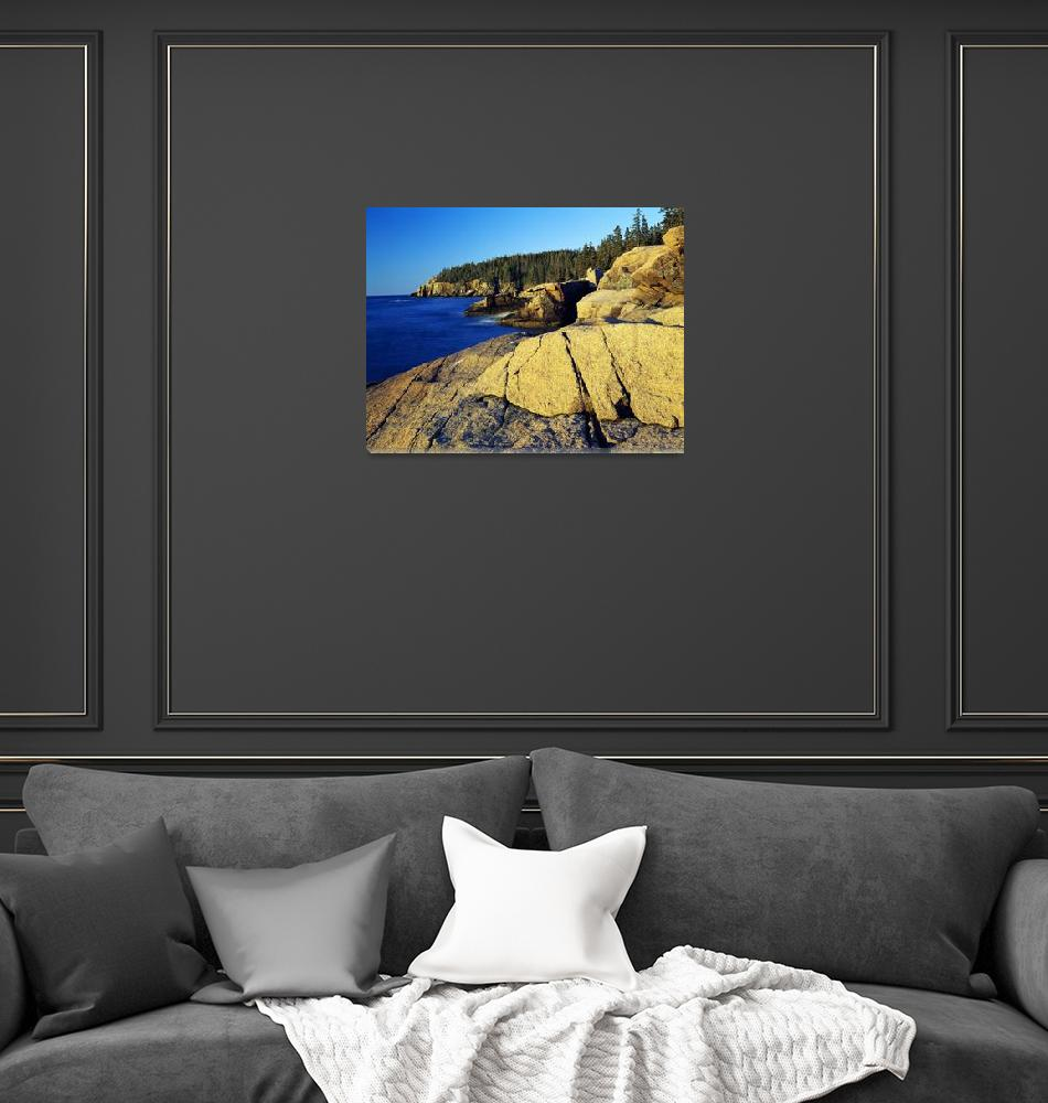 """""""Mount Desert Island shoreline"""" by Panoramic_Images"""