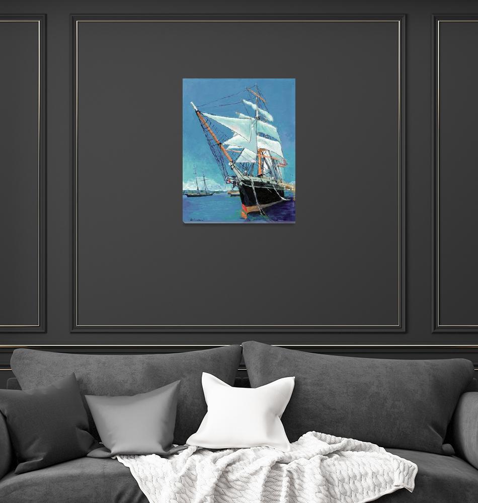 """Tallship Star of India San Diego""  (2007) by RDRiccoboni"