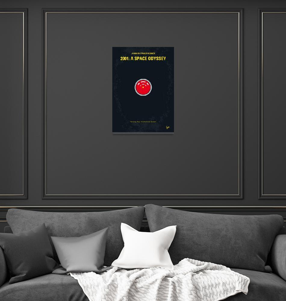 """No003 My 2001 A space odyssey 2000 minimal movie p""  by Chungkong"
