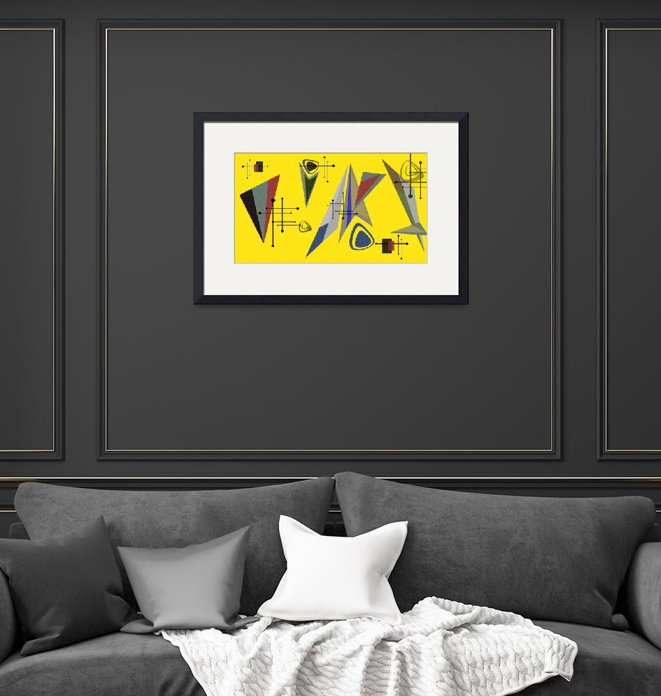 """""""1950 Yellow""""  (2010) by GrahamColton"""