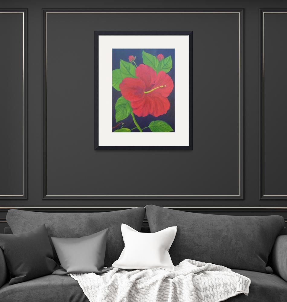 """""""Hibiscus""""  (2010) by GwenRose"""