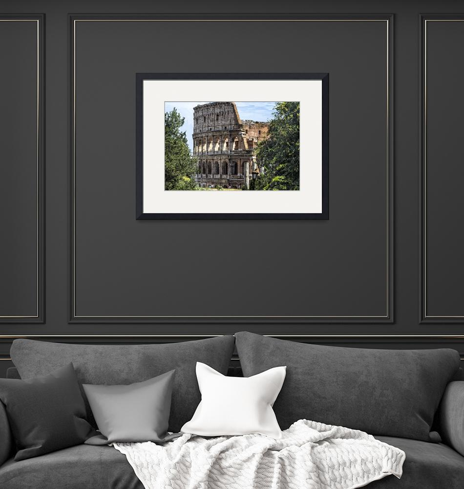 """""""The Colosseum, Rome""""  (2014) by mjphoto-graphics"""
