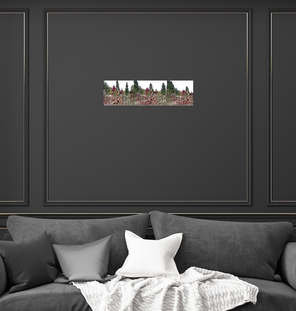 """Poster Edge Landscape No. 2""  (2009) by rjg-productions"