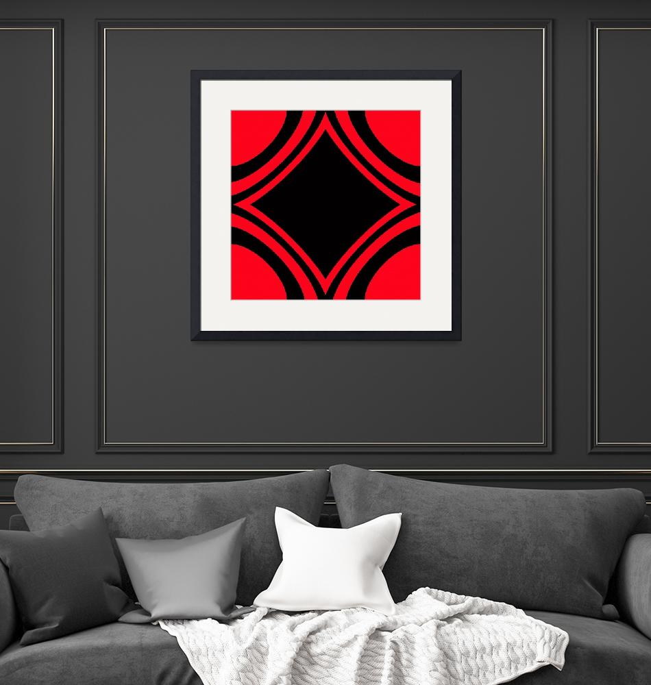 """""""Red and Black""""  (2012) by tala"""