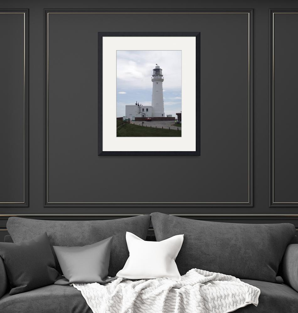 """""""Flamborough Head Lighthouse""""  (2009) by KeithBruce"""