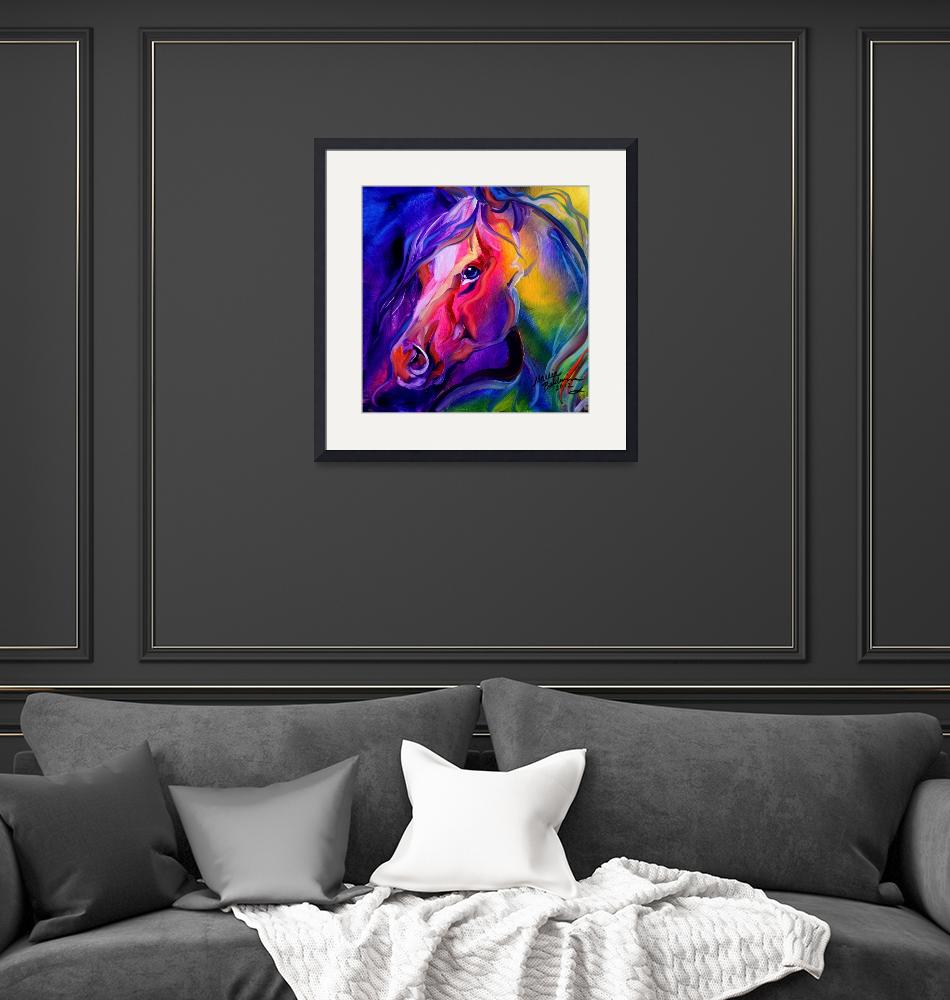 """EQUINE PRISM I""  (2012) by MBaldwinFineArt2006"