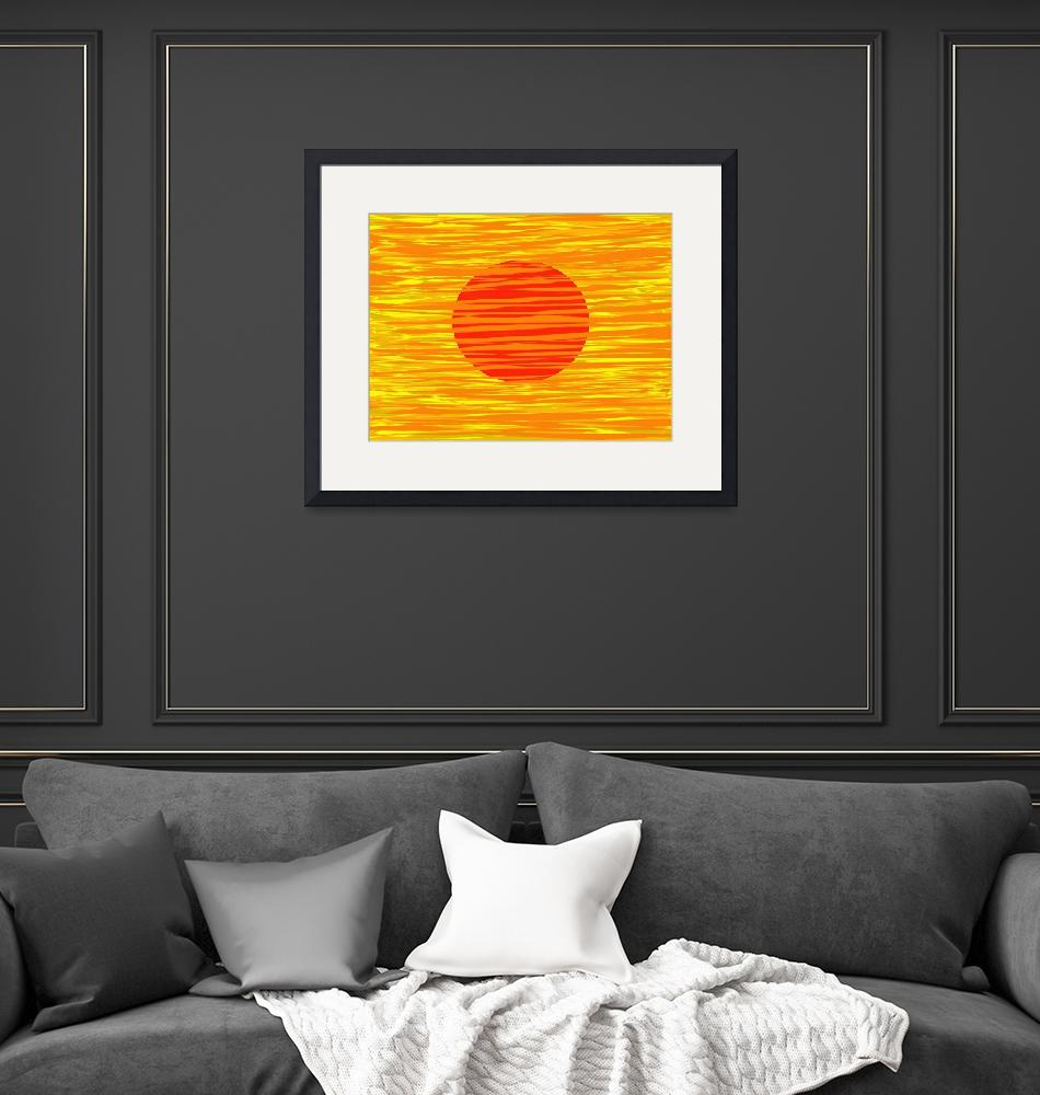 """""""RED AND GOLD""""  (2012) by Tronagallery"""