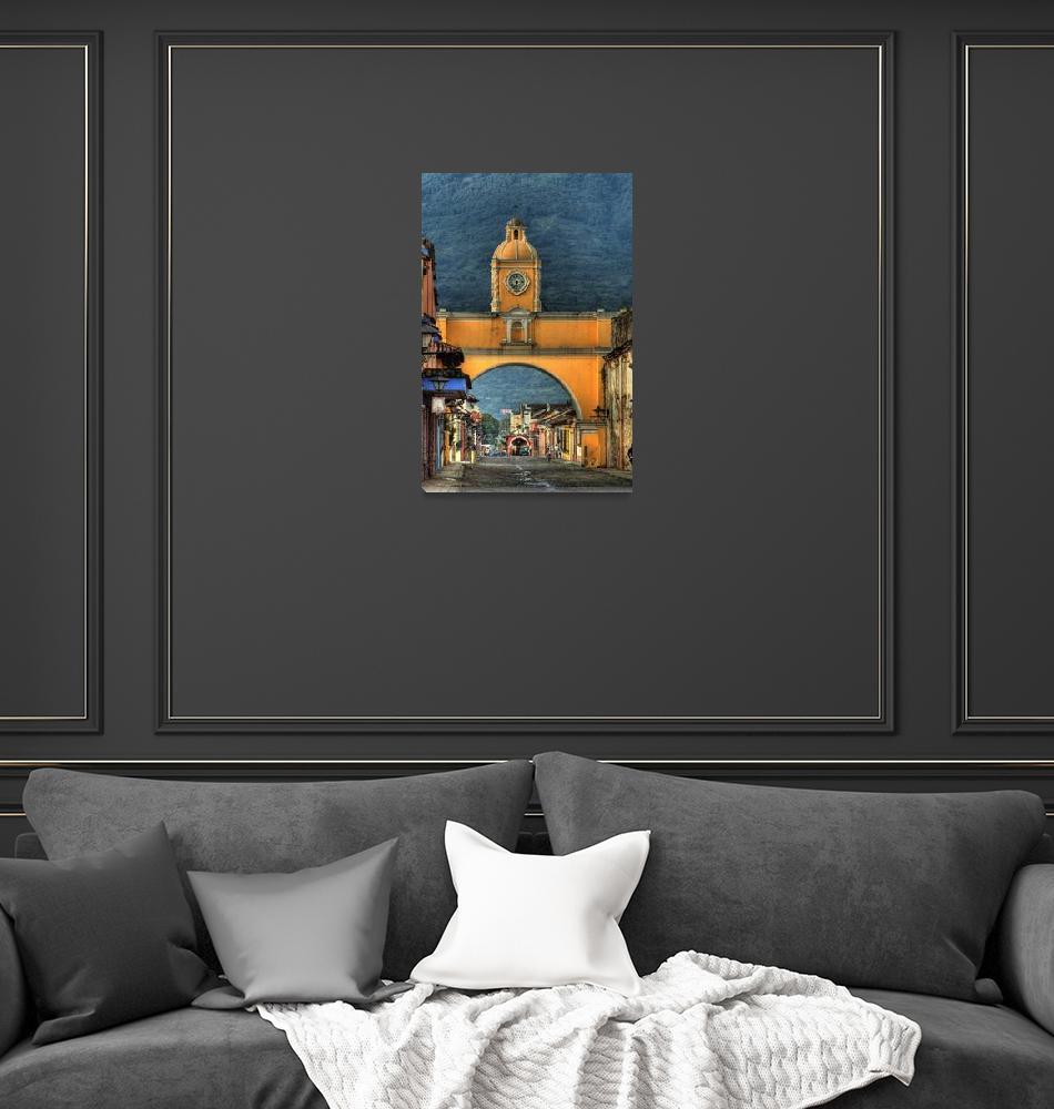 """Santa Catalina Arch, Antigua Guatemala""  (2007) by dawilson"