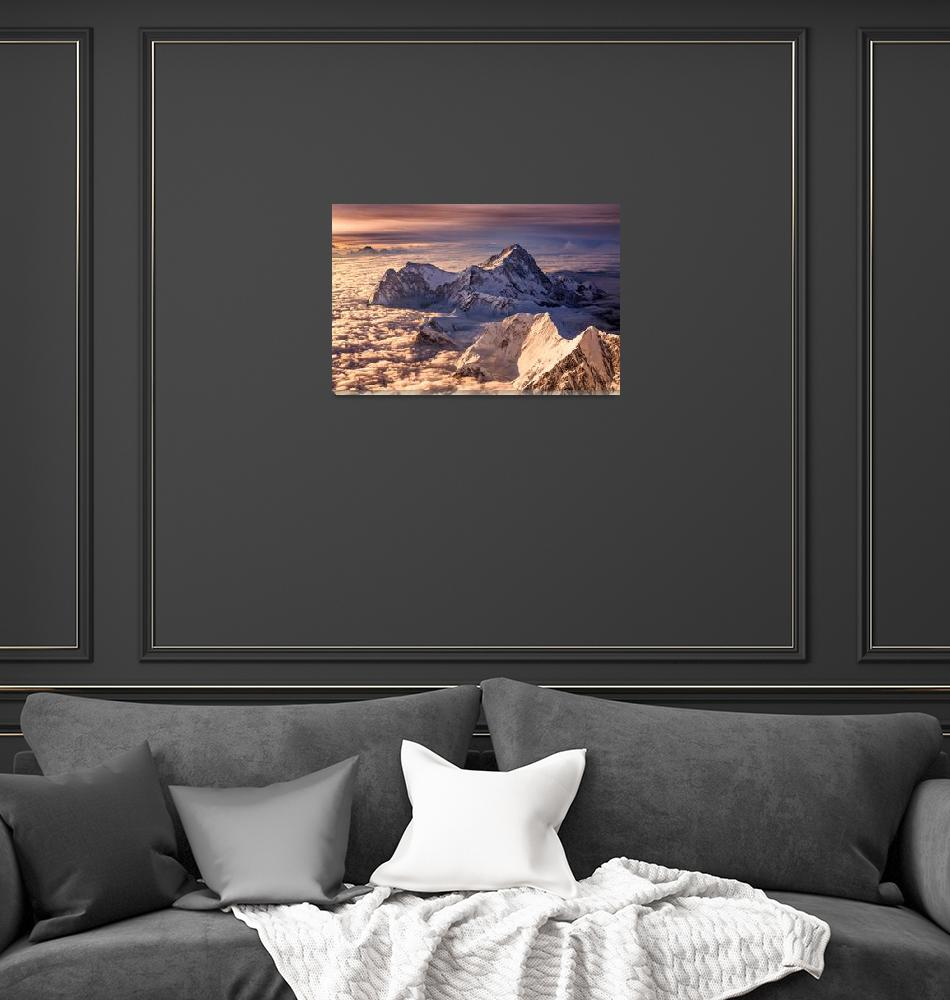 """""""Makalu from Everest""""  (2006) by ExposedPlanet"""