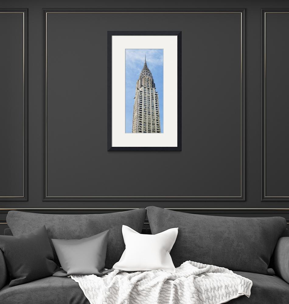 """Chrysler Building NYC (color)""  (2014) by elledeegee"