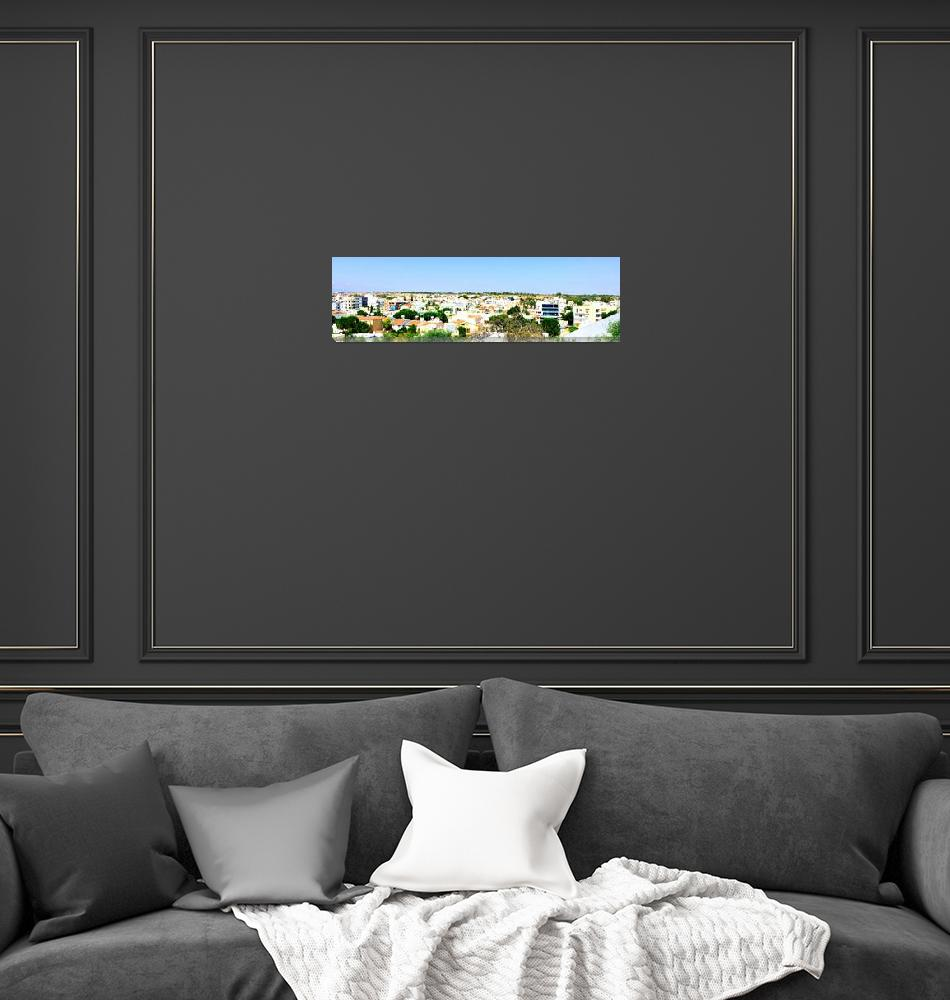 """Nicosia Skyline, Cyprus""  by Artsart"