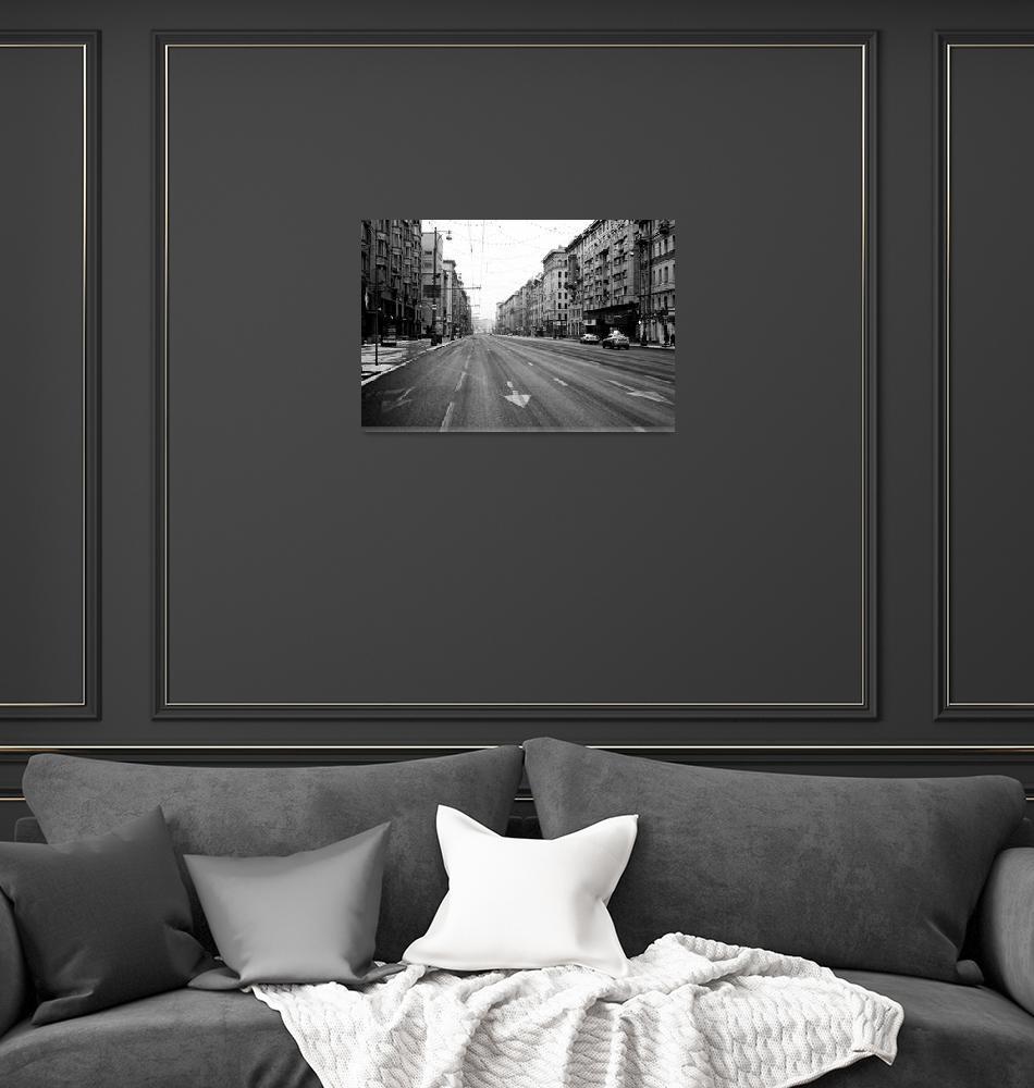 """""""Moscow, Tverskaya street""""  (2016) by maxzhiltsov"""