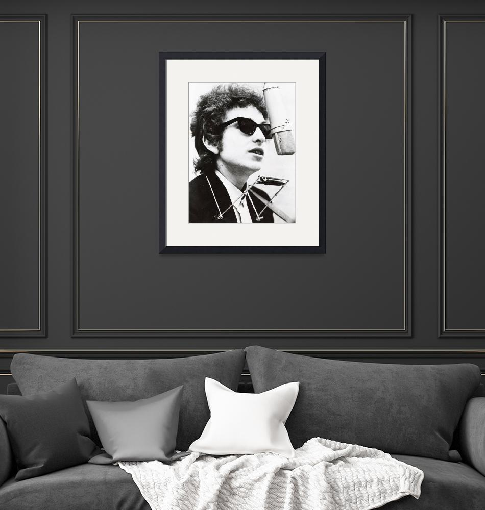"""""""Young Bob Dylan""""  by RetroImagesArchive"""