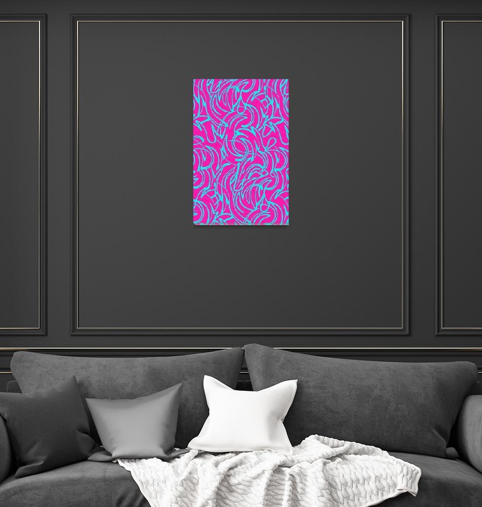 """""""Swirls (digital) by Louisa Knight""""  by fineartmasters"""