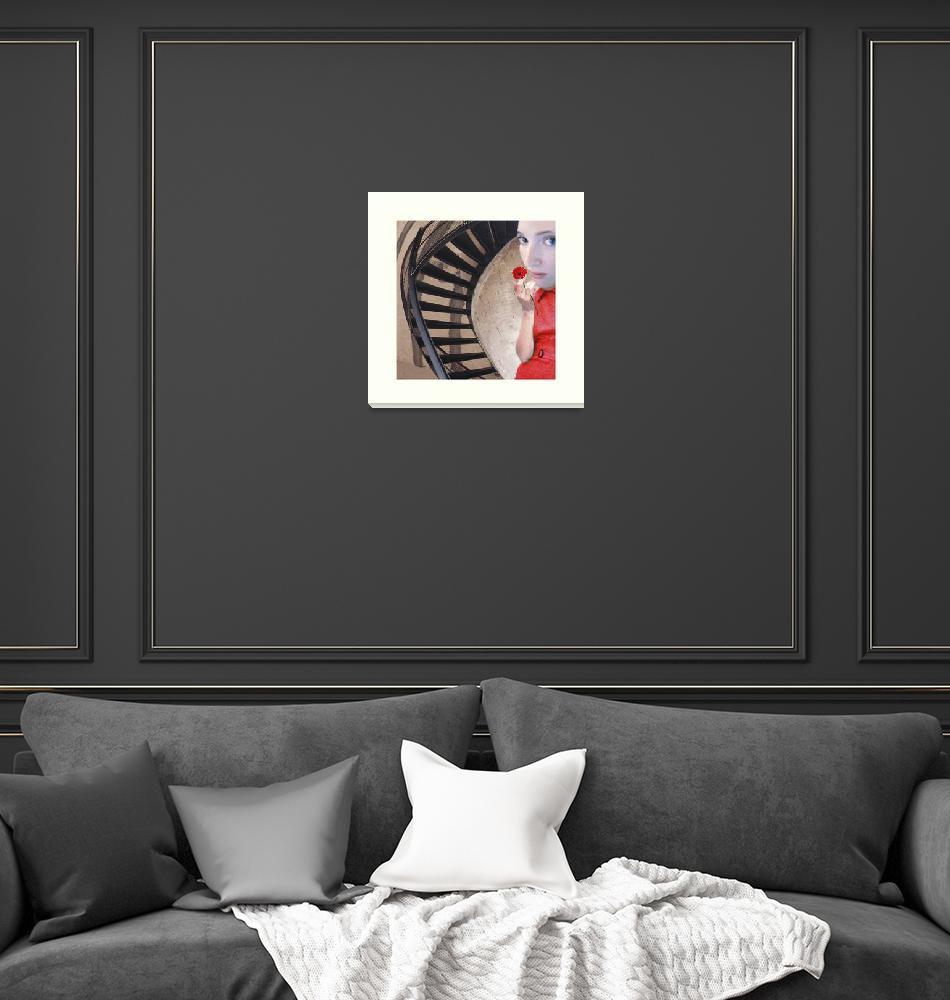 """""""Maritgen Art - Inside the Tower""""  (2007) by maritgen"""