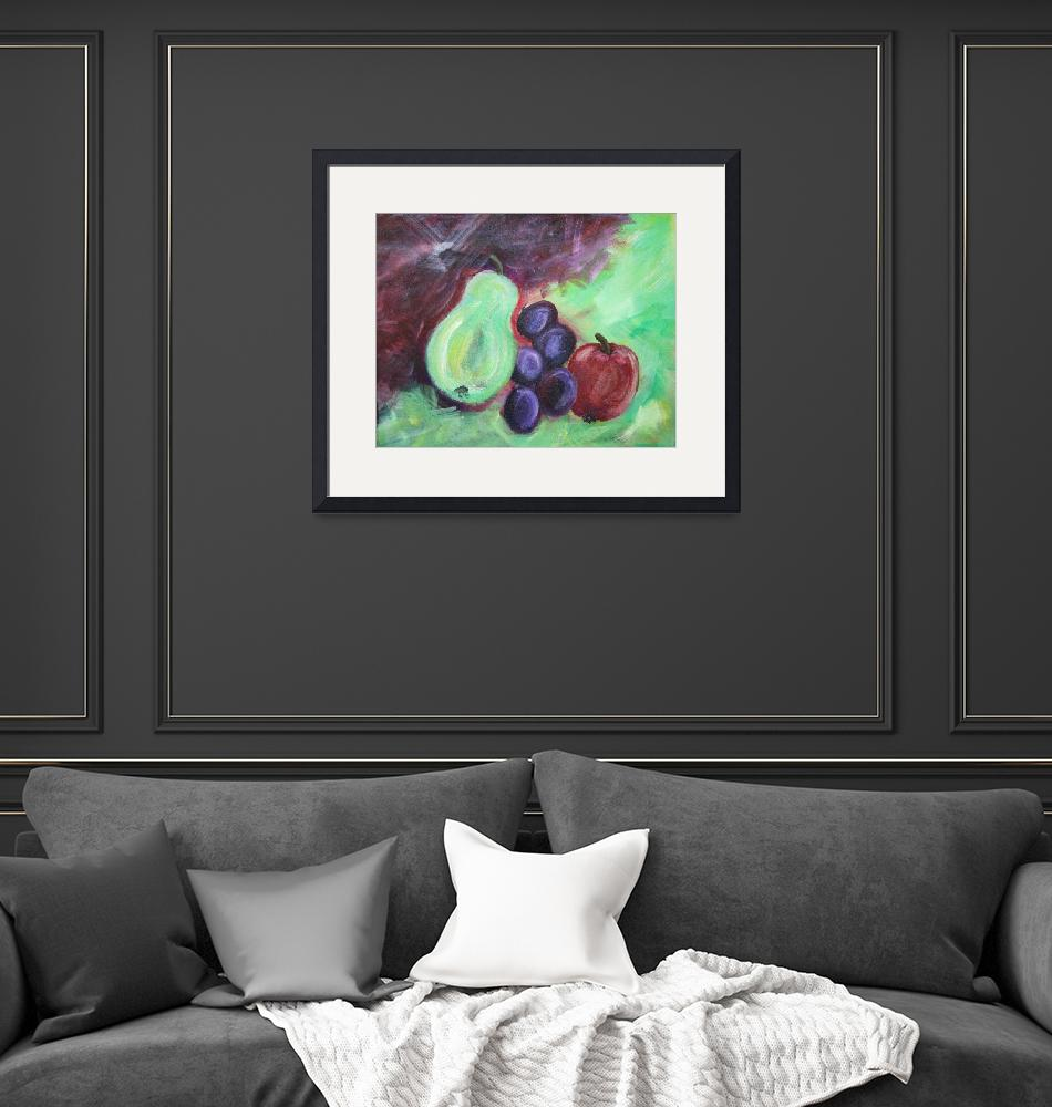 """""""Fruit Abstract""""  (2012) by watersedge"""