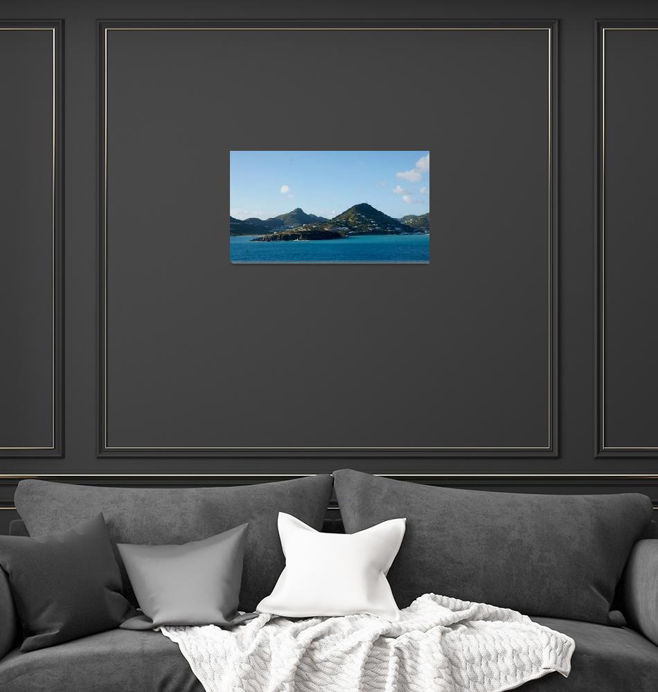 """St. Lucia""  (2011) by MoonLiteStudio"