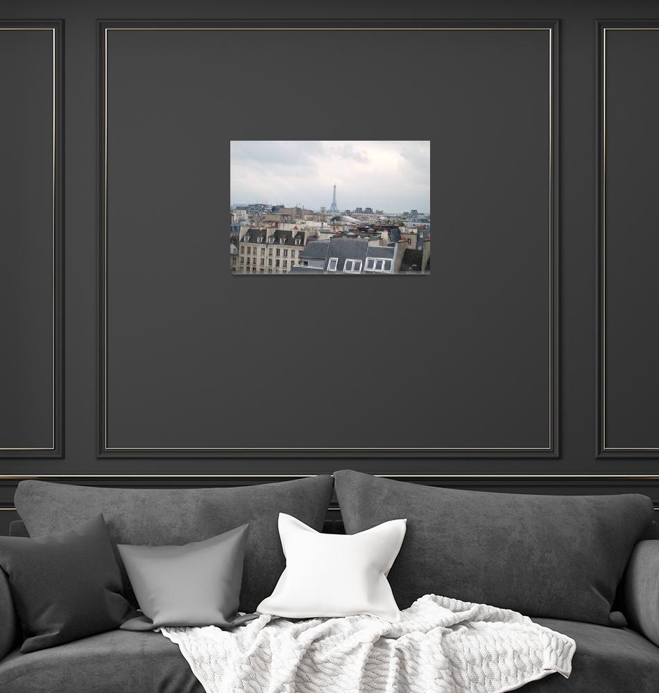 """""""View of Paris from Georges""""  by SallyMcKay"""