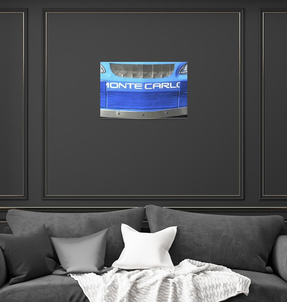"""""""Blue Monte Carlo""""  (2000) by MilImages"""