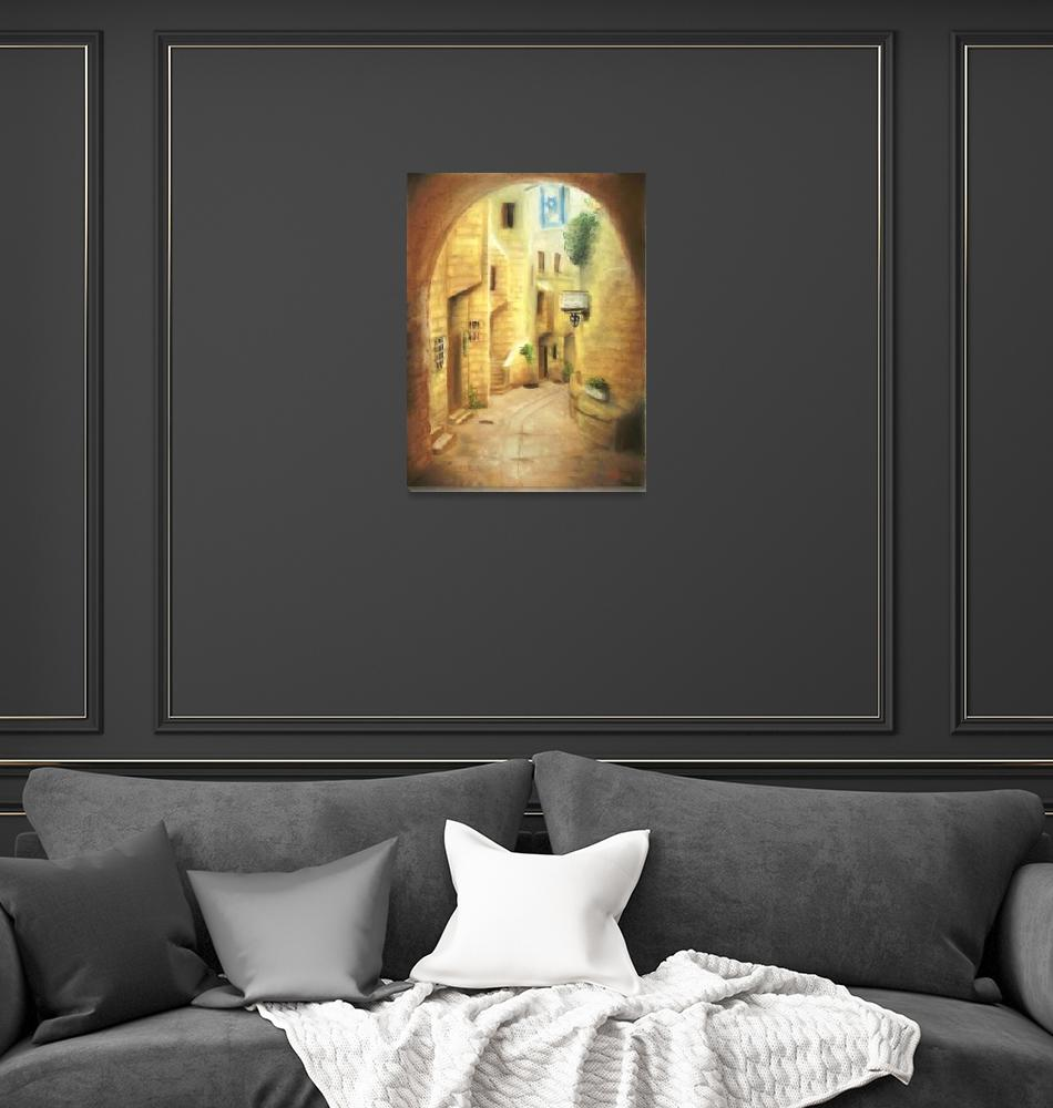 """""""Old City""""  (2008) by Adrichal"""