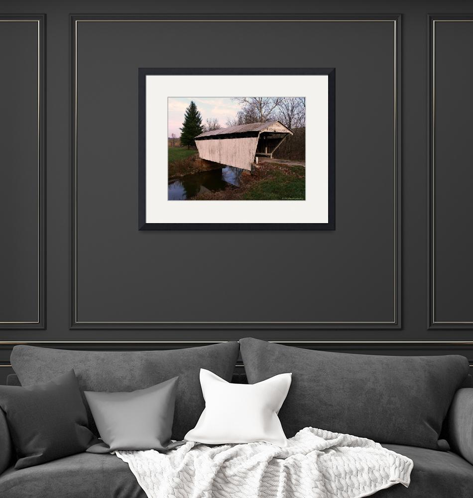 """""""Kirker Covered Bridge""""  by DivaPhotography"""