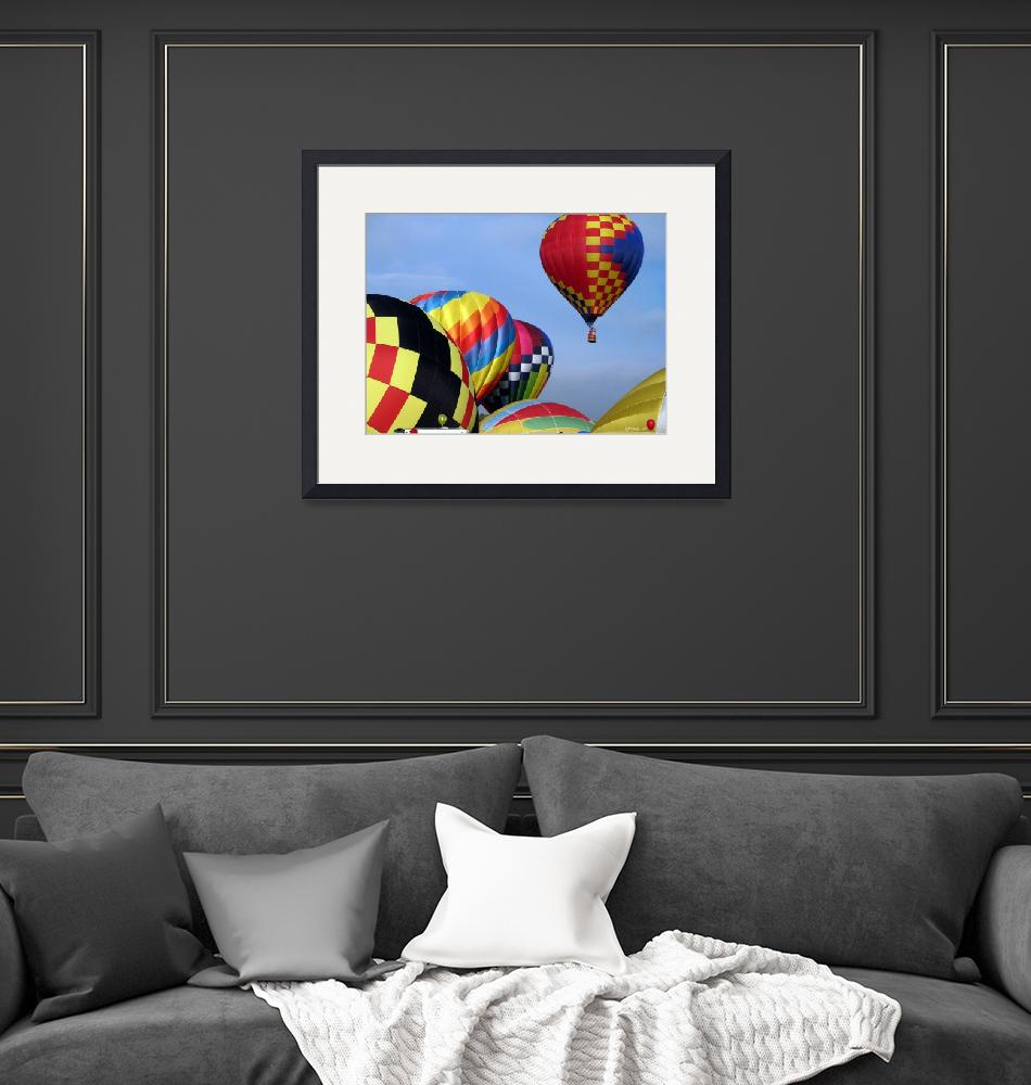 """""""Balloons Growing Up""""  (2010) by ralphnelsen"""