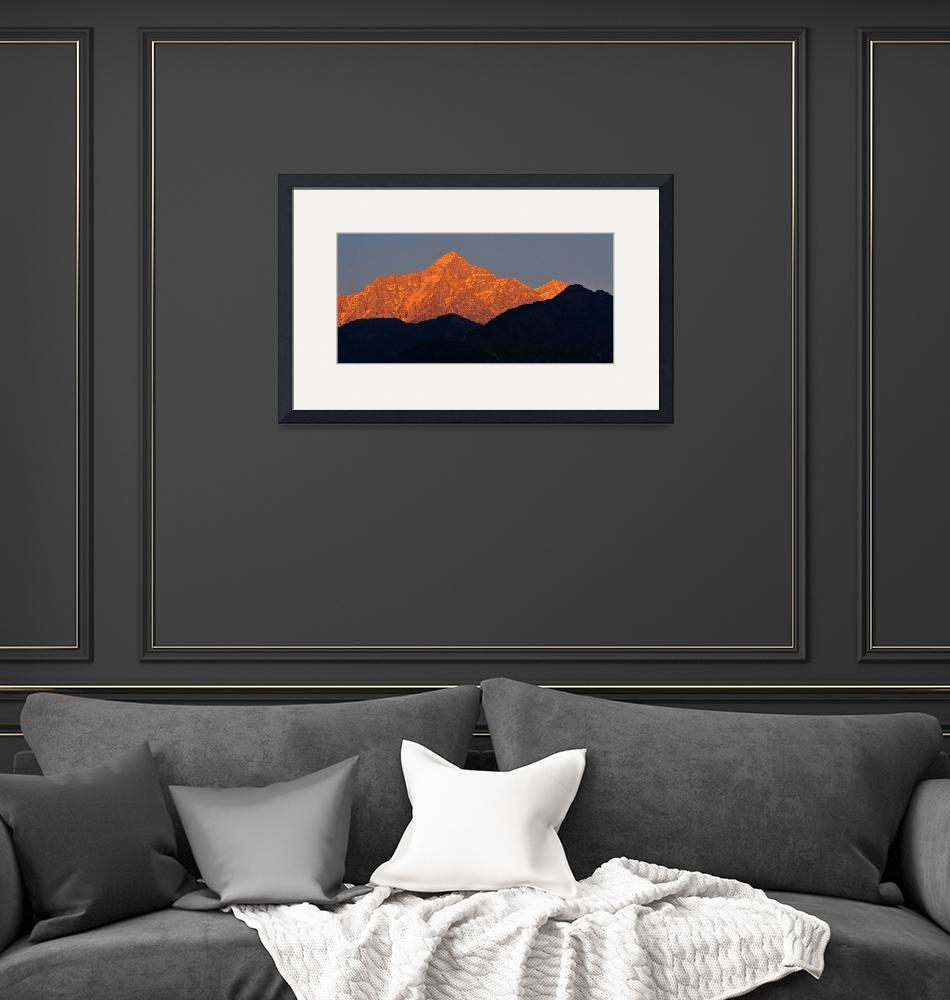 """""""Himalayan Alpenglow""""  (2011) by boppintheblues"""