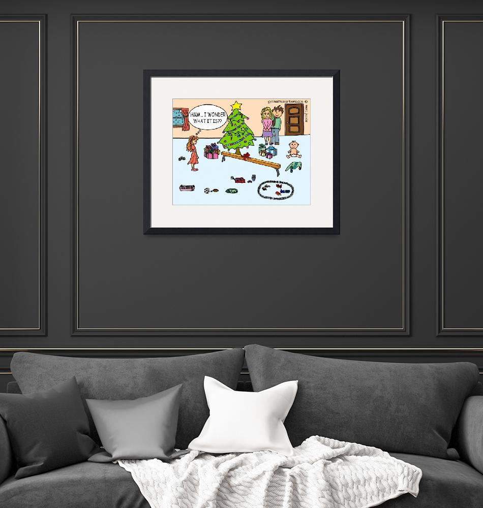 """I Wonder What It Is"" (2012) by gymnasticscartoons"