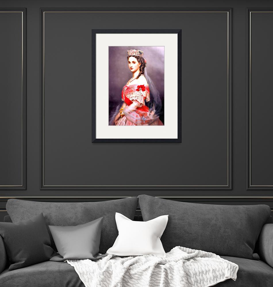 """Charlotte of Belgium aka Carlota of Mexico""  (2010) by bandtdigitaldesigns"